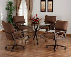 Metal Dining Room Chair Modena Round Solid Wood Dining Table With Vintage Metal Legs