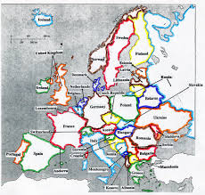 Blank Europe Map by Medieval Europe Mr Dresel Social Studies 7