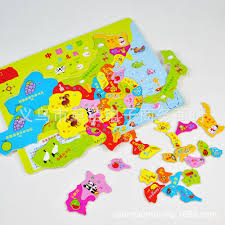 Kids World Map Wooden World Map Puzzle Wooden Toys For Children Early Learning