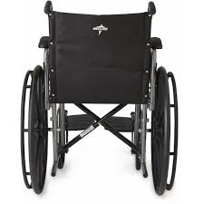 medline excel k1 basic steel wheelchair walmart com