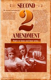 The Second Amendment reads: