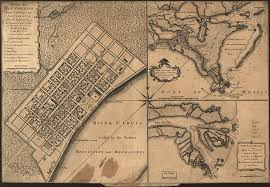 Map New Orleans French Quarter by Plan Of New Orleans The Capital Of Louisiana With The Disposition