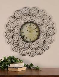 modern wall clocks for kitchens silver large wall clock perfect