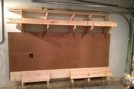 Rolling Wood Storage Rack Plans by How To Build A Wall Mounted Lumber Storage Rack One Project Closer