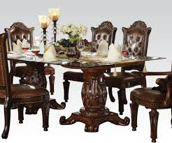double pedestal dining room table sets with inspiration ideas 1950