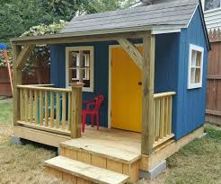 Plans To Build A Wooden Garden Shed by Best 25 Playhouse Plans Ideas On Pinterest Kid Playhouse