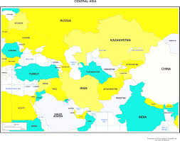 Map Of Asia by Maps Of Asia Throughout Map Central Asia Countries Evenakliyat Biz