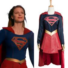 Supergirl Halloween Costume Superhero Fancy Dress Magic Game Halloween Superman