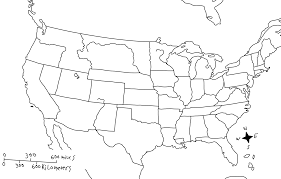 Blank Us Map Pdf by Can Use This Map Not Only For Geography But To Get Kids Involved