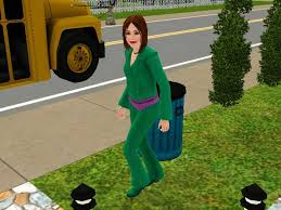 The Sims     Teenagers  High School  Romance  amp  Part Time Jobs Carl s Sims   Guide A Teenager in the Sims    off to school