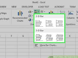 Design A Bar by How To Make A Bar Graph In Excel 10 Steps With Pictures