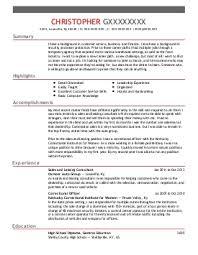 Sample Customer Service Resume Canva