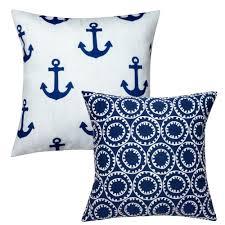 Nautical Home Accessories Nautical Pillows For Beach Decor Decorative Pillows
