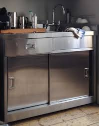 Stainless Steel Sink Unit With Cupboard Fire Tower House - Kitchen sink cupboards