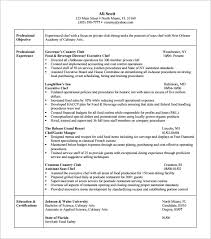 school food service director resume Michael Stafiej