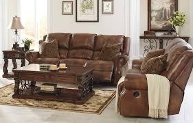 bradley u0027s furniture etc rustic reclining sofas and recliners