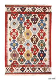 Multicolor Rug K0003904 Multicolor New Turkish Kilim Area Rug Kilim Rugs