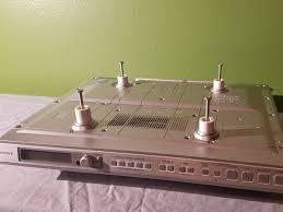sony icf cd553rm under cabinet kitchen cd clock radio teardown