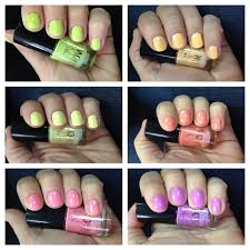unboxing beauty maybelline bleached neons color show nail lacquer