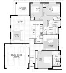 the carlson double storey home design floor plan 2585m2 4 luxury