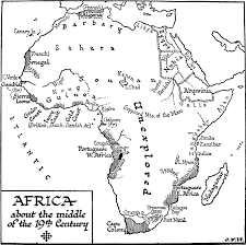 Physical Map Africa by 3688 Gif