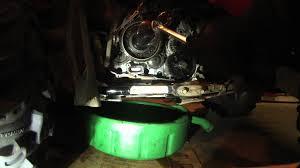 starter clutch repair flywheel pulling 2006 suzuki kingquad 700
