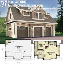 craftsman house plans rv garage wliving 20 042 associated designs