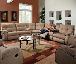 leather sectional sofa recliner grey reclining sectional couches label enchanting grey recliner