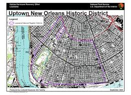 New Orleans Downtown Map by Ncptt Maps And Lists Katrina Rita