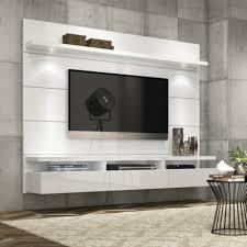 Living Room Furniture Tv Cabinet Manhattan Comfort Cabrini Theater Floating Entertainment Center