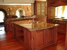 Dark And White Kitchen Cabinets Kitchen Elegant Kitchen Island With Lowes Quartz Countertops And