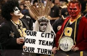 Saints Costumes Halloween Orleans Super Fans Halloween Game Dream True