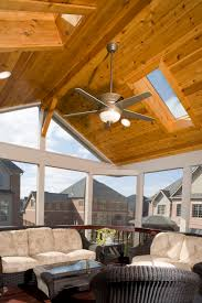 Outdoor Patio With Roof by Outdoor Fireplace Maryland Custom Outdoor Builder Decks