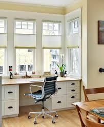Bay Window Desk Desk Bay Window Home Office Transitional With Weston Flax Benjamin