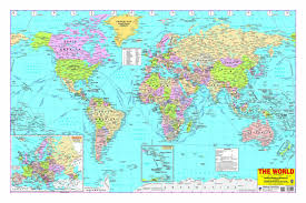 Pictures Of World Map by Buy World Map Book Online At Low Prices In India World Map