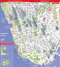 Subway Nyc Map by Streetsmart Nyc Map By Vandam City Street Map Of Manhattan New