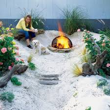 How To Make A Fire Pit In Backyard by How To Make A Beach Sunset