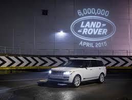 Land Rover produz 6.000.000º veículo - Memória Motor