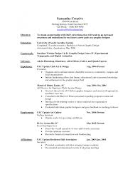 Example Objectives For Resumes by Resume Design Graphic Designer Resume Sample For Fresher Graphic