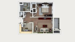 One Room Apartment Floor Plans One Bedroom Floor Plans Crane U0027s Mill