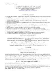 Resume Objective Resume And Nurses On Pinterest Sample Resume Graduate Nurse Resume Objective Examples Nursing Student     Appeal Letters Sample