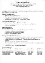 Resume For Nanny Job by Free Resume Templates 89 Extraordinary Examples For Jobs Example