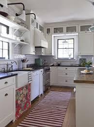 retro lighting floral textiles clean cut cabinetry vintage