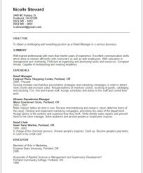 Summary Sample Resume by Nanny Resume Template Sample Nanny Resume Template 6 Free Nanny