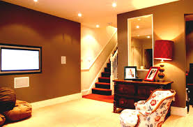 Interior Design For Home Theatre by Bordered Movei Screen Basement Home Theater Pictures Zebra Motif