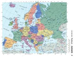 Blank Europe Map by Maps Of Europe And European Countries Political Maps