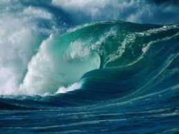 самые крупные волны в мире