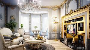 Interior Design Royal Classic Living Room Beautiful Victorian - Modern victorian interior design ideas