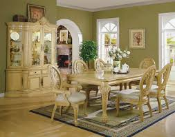 antique dining room sets 6 piece italian empire revival marble