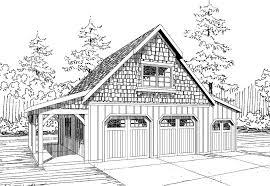 062g0076 modern rv garage plan with loft garage plans with loft delightful 2 car garage apartment plans 6 20100artjpg